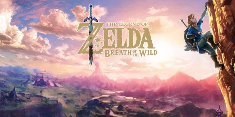 Most Popular Video Games - The Legend of Zelda- Breath Of The Wild